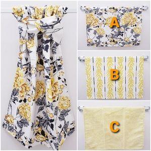 #9083-GC *DREW BARRYMORE Hang'N'Snap HAND Towel
